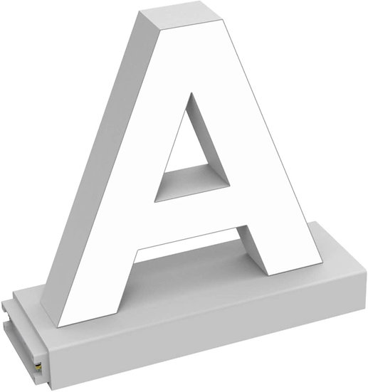 "MAGLED ""A"" TABLE-TOP LED Signage with Adjustable 6500K CCT 6500K Brightness"