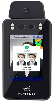 VARIANTZ Vantage C Face Recognition + Temperature/Mask Access