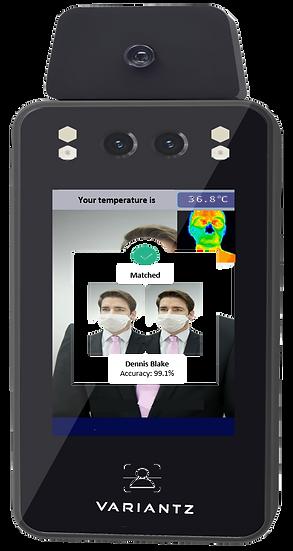 VARIANTZ Vantage C Face Recognition + Temperature/Mask Access