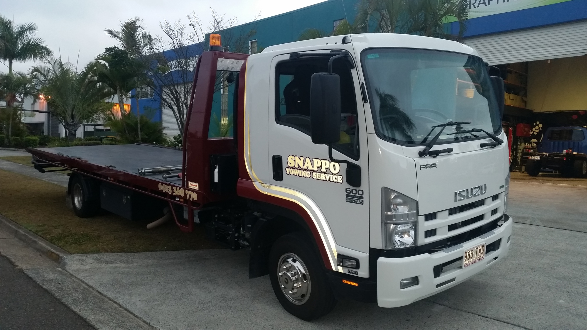 Snappo-Towing