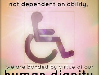 Disability & Dignity