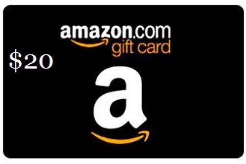 Amazon $20 e-Gift Card