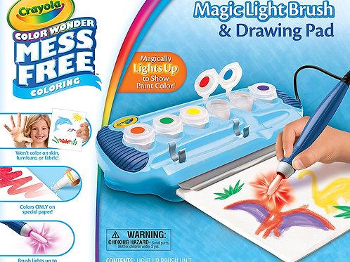 Crayola Color Wonder Magic Light Brush & Drawing