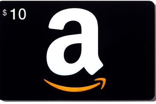Amazon $10 e-Gift Card