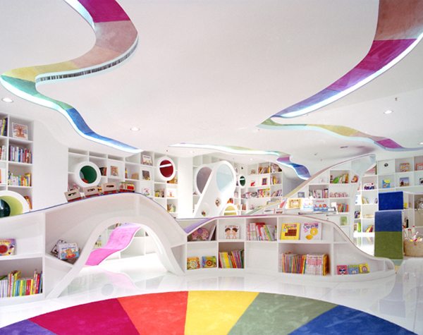 Awesome-Modern-Kids-Playground-with-Colorful-Decoration-Ideas