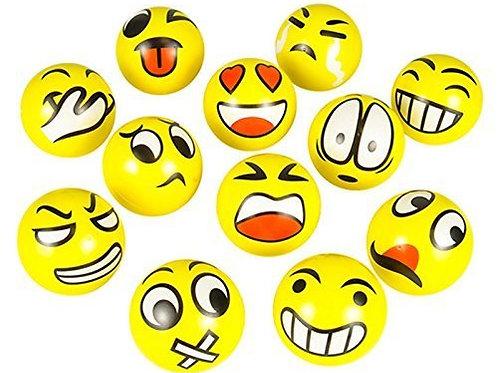 Fun Emoji Face Squeeze Balls