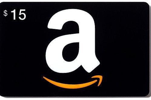Amazon $15 e-Gift Card
