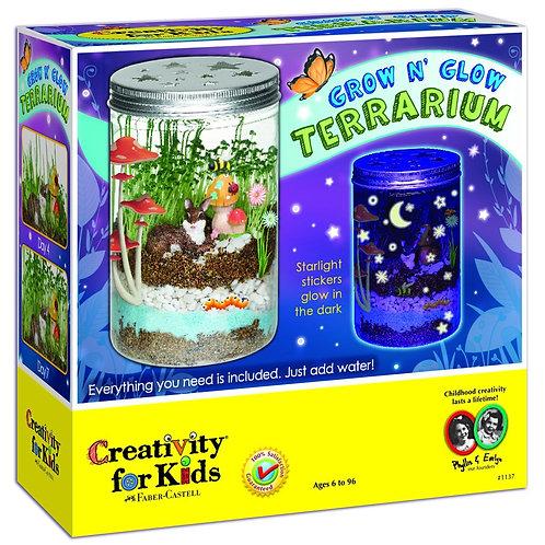 Grow and Glow Terrarium