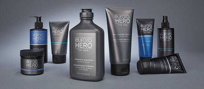 Eufora HERO Hair Care Product Collection