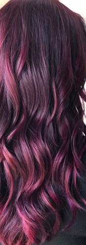 Berry Bliss, Fun Hair Color