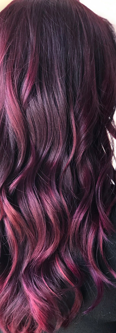 Berry Bliss, Fun Hair Color