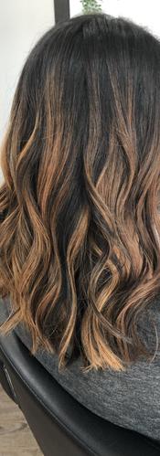 Caramel Balayage Hair Color at CBW
