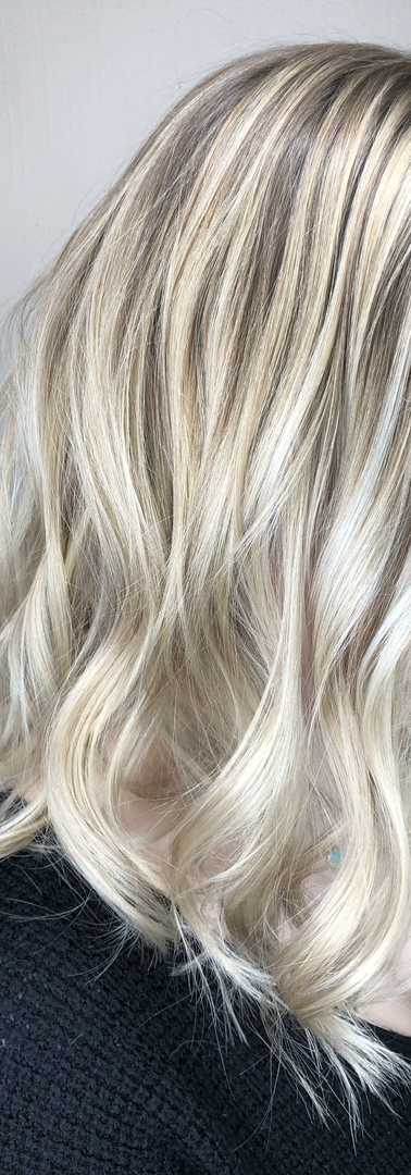 Cool Tone Balayage Hair Color