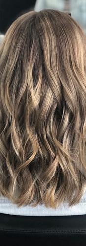 Summer Balayage Hair Color created at Wi