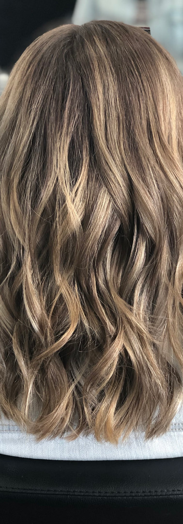 Summer Balayage Hair Color created at Wi