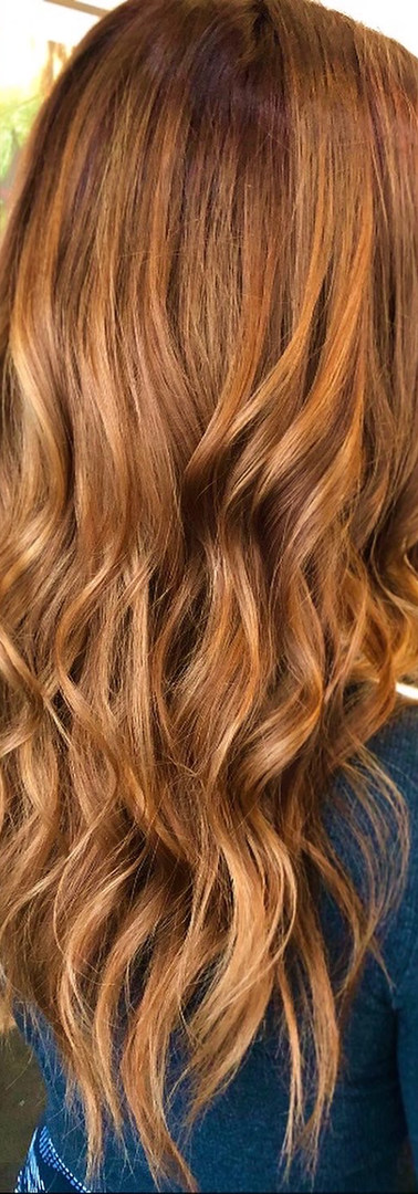 Muted Copper Hair Color creation at CBW