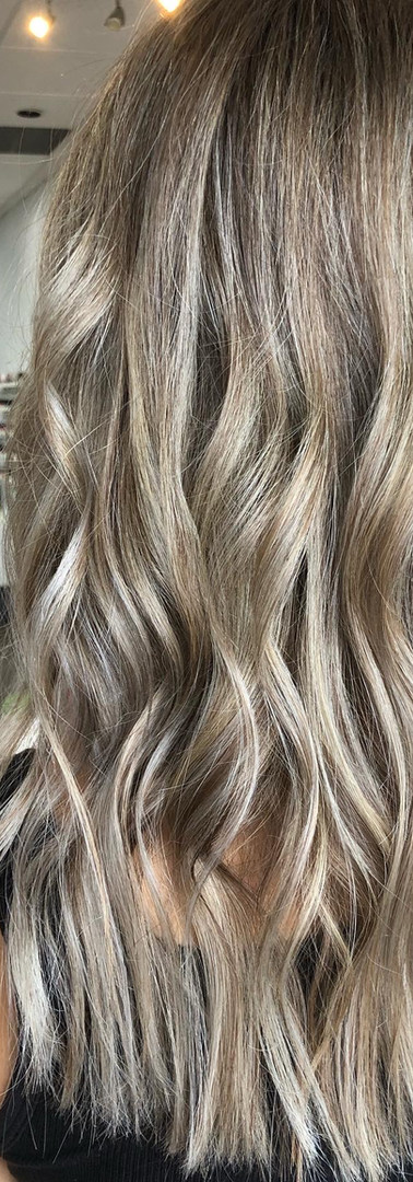Beach Waves and Balayage Hair creation b