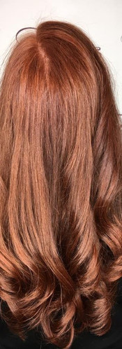 Copper Loose Curls Hair Style Colors Bea