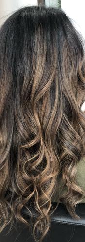 Sun Kissed Hair Highlights from Winnipeg
