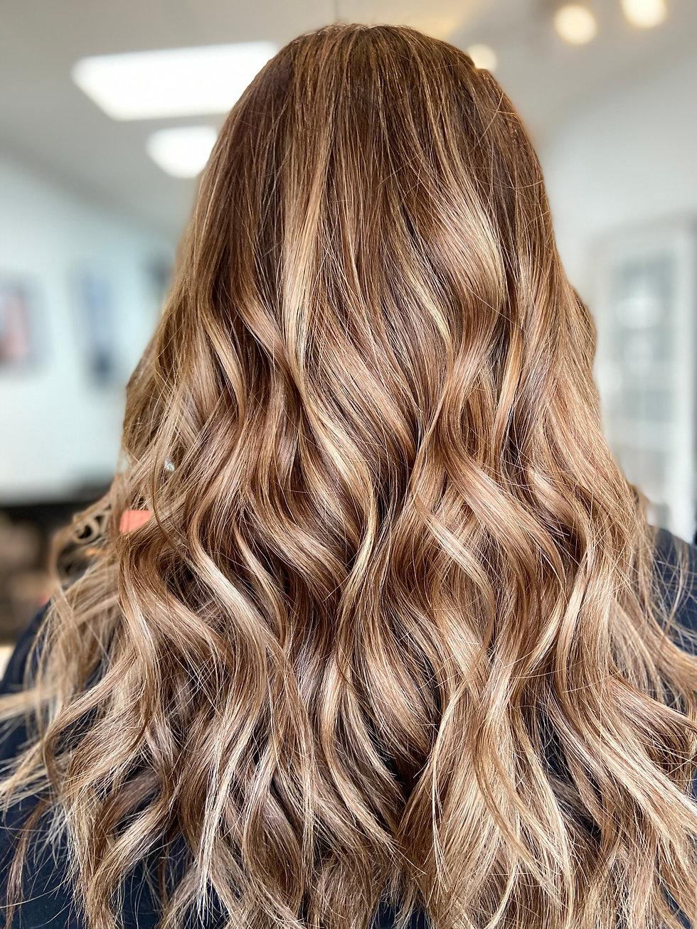 Balayage Hair Color Winnipeg Model