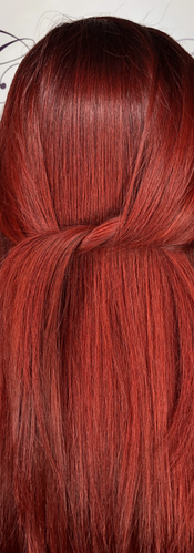 Trending Bold Red Hair Color