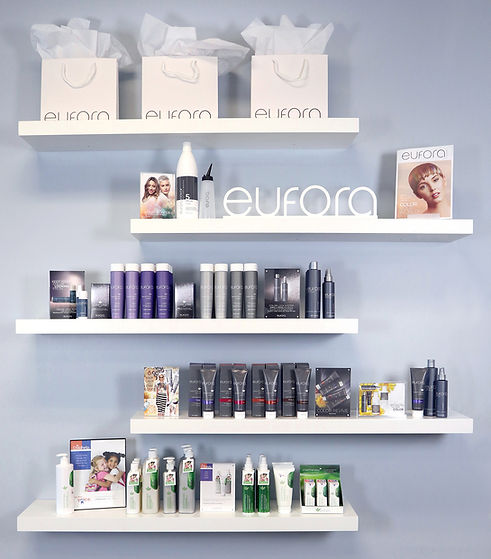 Eufora Clean Beauty Hair Care Products a