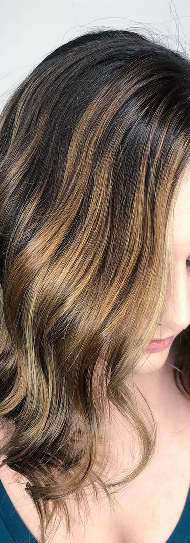 Balayage Hair Color, Winnipeg Hair Salon