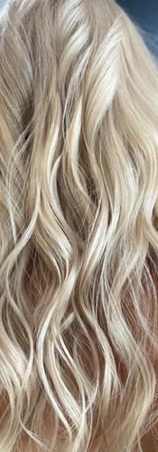 Vanilla Blonde Long Hair, Colors Beauty