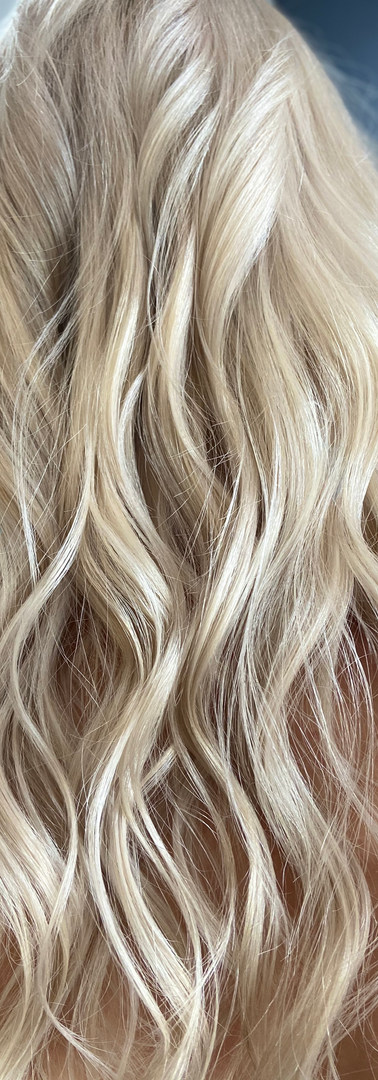 Vanilla Blonde Long Hair, Colors Beauty