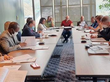 GBV Committee & Coalition MPs meet with development partners to discuss partnerships to end to GBV