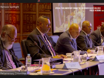 Historic Public Hearing on Gender Based Violence held by PNG Parliamentary Committee
