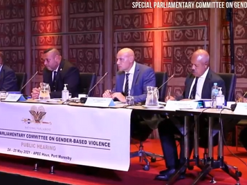 Parliamentary Committee  on GBV launches first Report – calls for urgent Government action