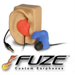Fuze molded Ear Pieces