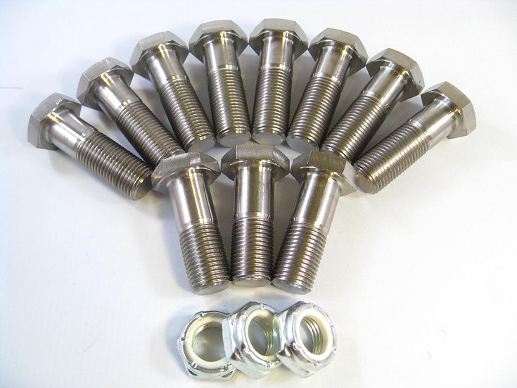 Midget Radius Rod Bolt Kit (threaded chassis)