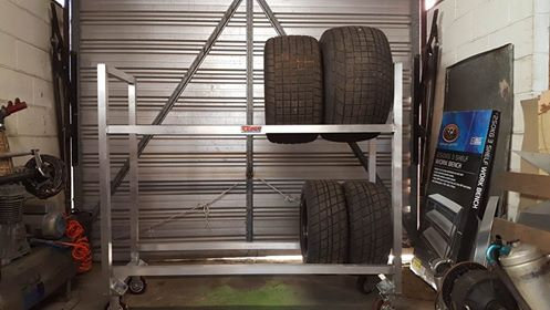 Mobile Wheel Rack