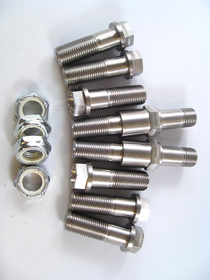 J & J / Spike Flange Bolt shock kit