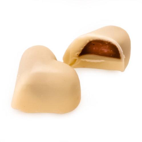 White Chocolate Praline Heart