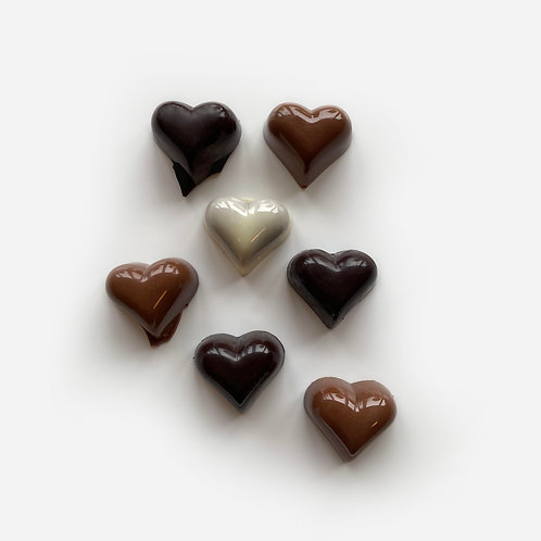 Praline Hearts 100g