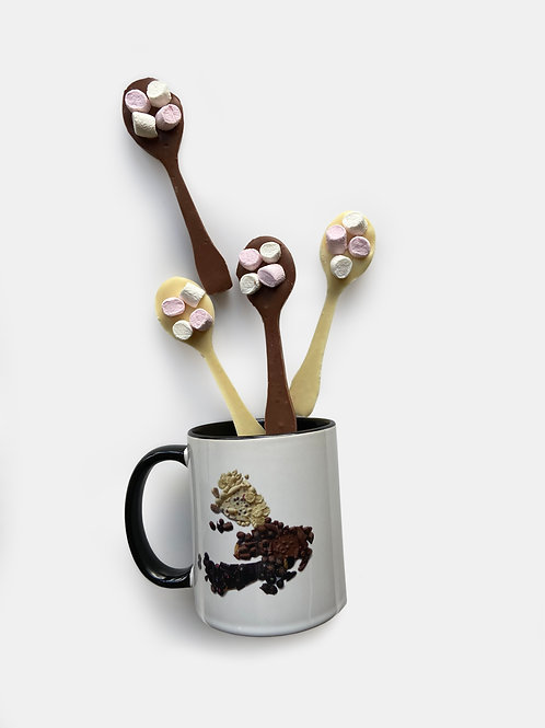 Isle of Mull Mug & Hot Chocolate Spoons