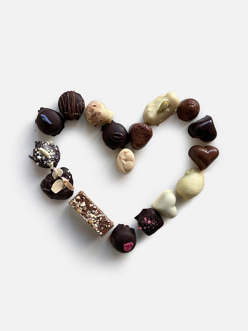 Valentine's Heart Selection 250g