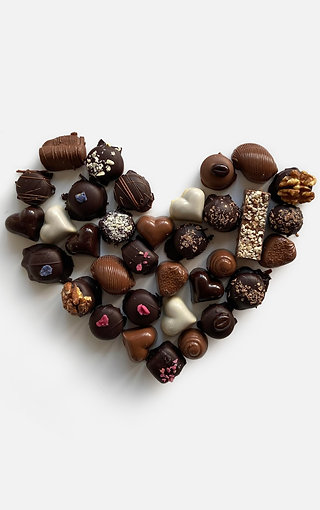 Valentine's Heart Selection 500g