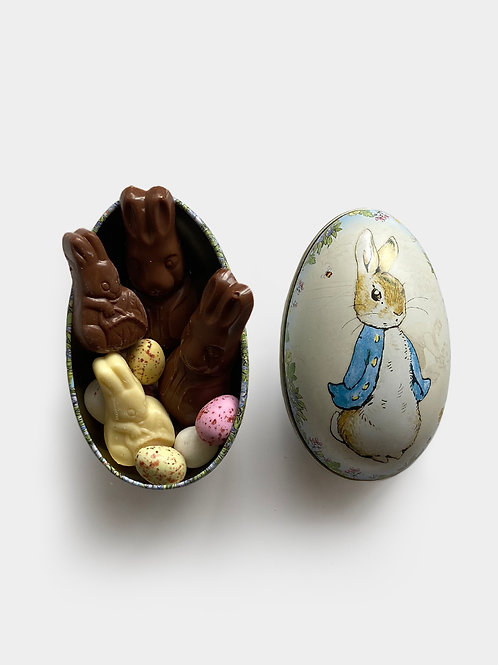 Peter Rabbit Egg Tin 100g