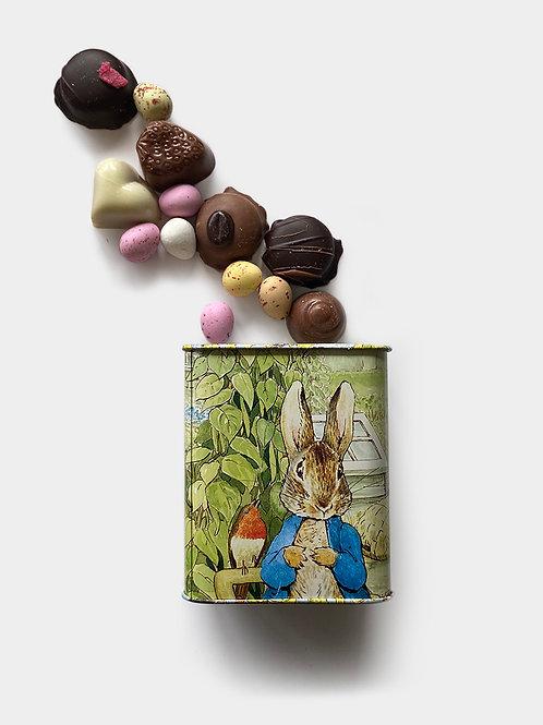 Peter Rabbit Tin 100g