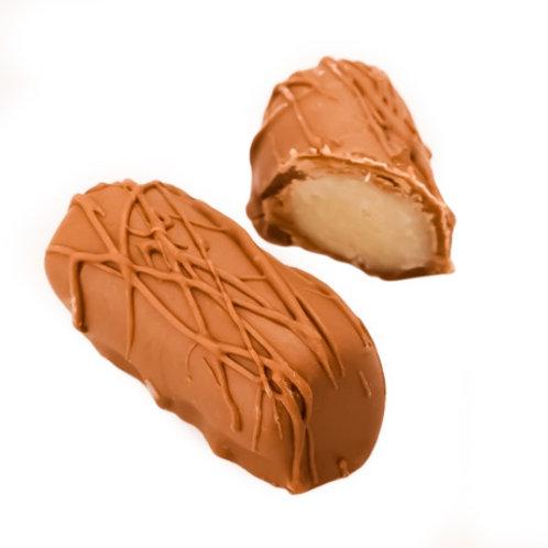 Milk Chocolate Marzipan Log