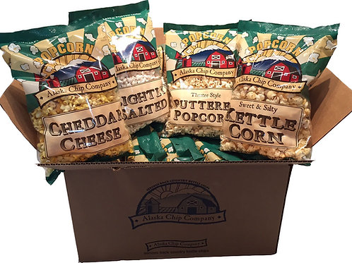 Mixed Case of our 4 flavors of popcorn
