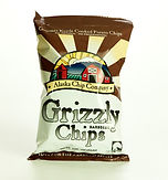 Bag of Grizzly Chips - Barbecue Flavored
