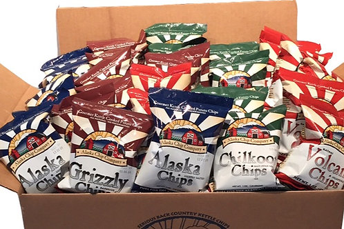 Mini Case of 24 bags of 1 oz Chips
