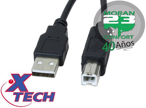 CABLE XTECH XTC-304 USB 2.0 A USB