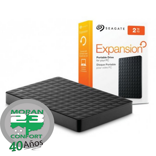 DISCO DURO EXTERNO SEAGATE EXPANSION 2 TB