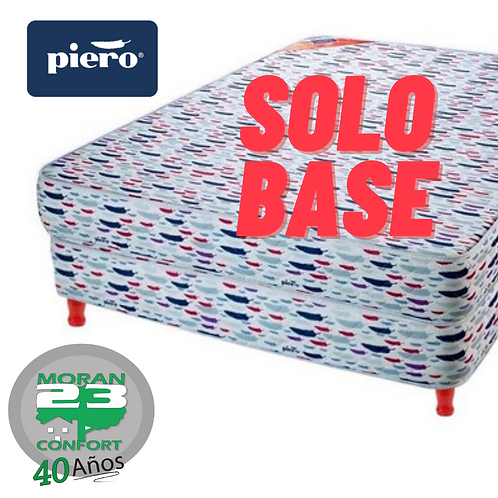BASE DE SOMIER 1.40 X 1.90 X 20 PIERO BODY PRO